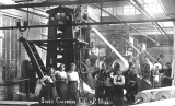 Workers at Everett Pulp and Paper Company (the Lowell Paper Mill)