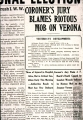 Everett News Tribune Headline 1916