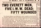 Everett Herald Headline 1916