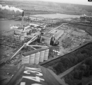Aerial view of new Weyerhaeuser Mill