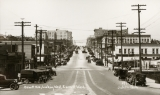Hewitt Avenue, Looking West, Everett, Washington