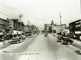 Hewitt Avenue, Looking East, Everett, Washington
