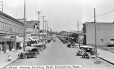 Snohomish, Washington, First Avenue, looking east.
