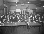 Texaco salesman and service station operators at Elks Club