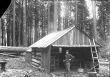 Log building, Snohomish County, Washington