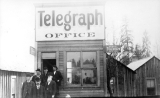 Telegraph office on Pacific Avenue, Everett, Washington