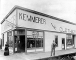 Kemmerer Clothing store at Everett Avenue and State, Everett, Washington
