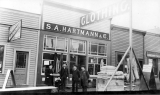 S. A. Hartmann & Co., clothing store, on Hewitt Avenue between Chestnut and State, Everett,...