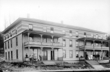 Lowell Paper Mill boarding house, Lowell, Washington