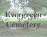 Evergreen Cemetery Tour Map