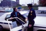 Chaplain Les Carney and Police Officer Norm Lecours
